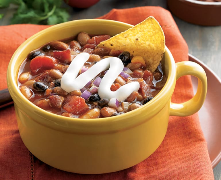 Click to open Applewood Smoked 3-Bean Chili recipe
