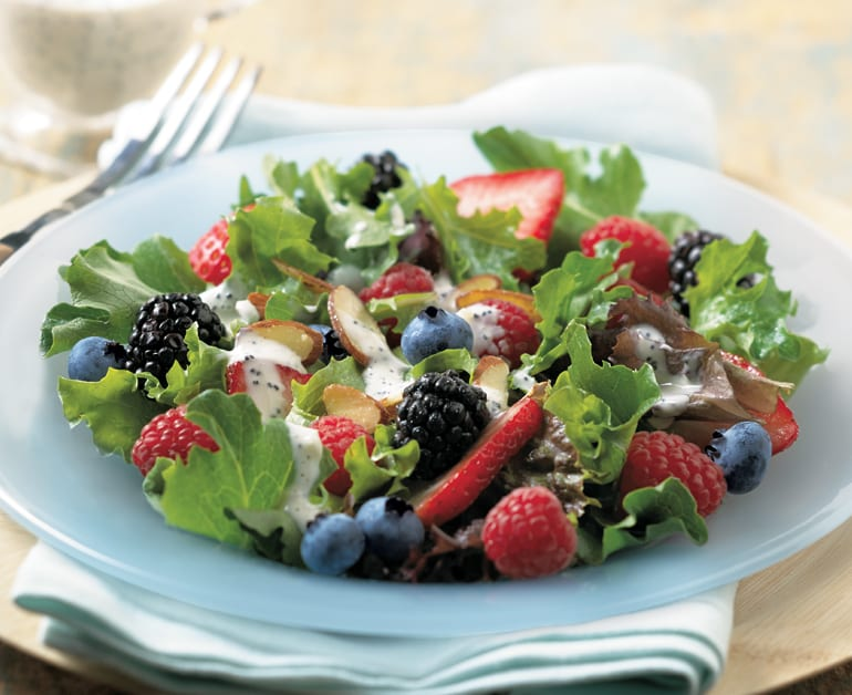 Thumbnail image for Baby Greens & Berry Salad