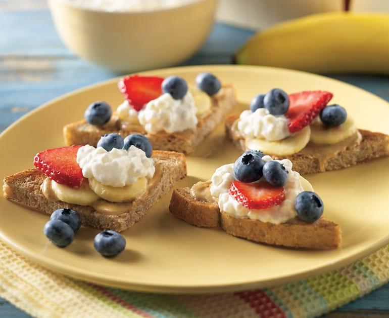 Banana Berry Crostini slider image 1
