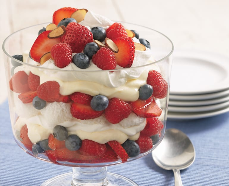 View recommended Berry Trifle recipe