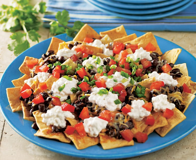 View recommended Black Bean Nachos recipe
