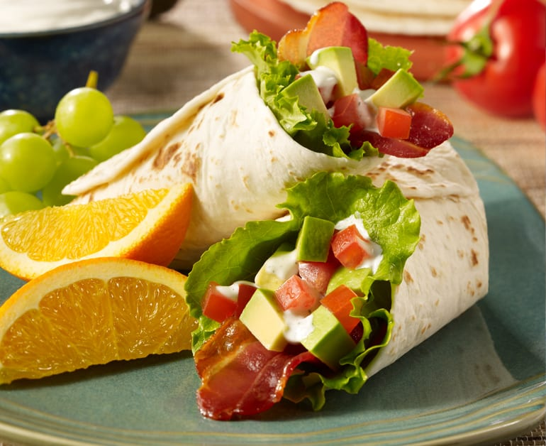 B.L.A.T. Wrap with Ranch Sour Cream slider image 1