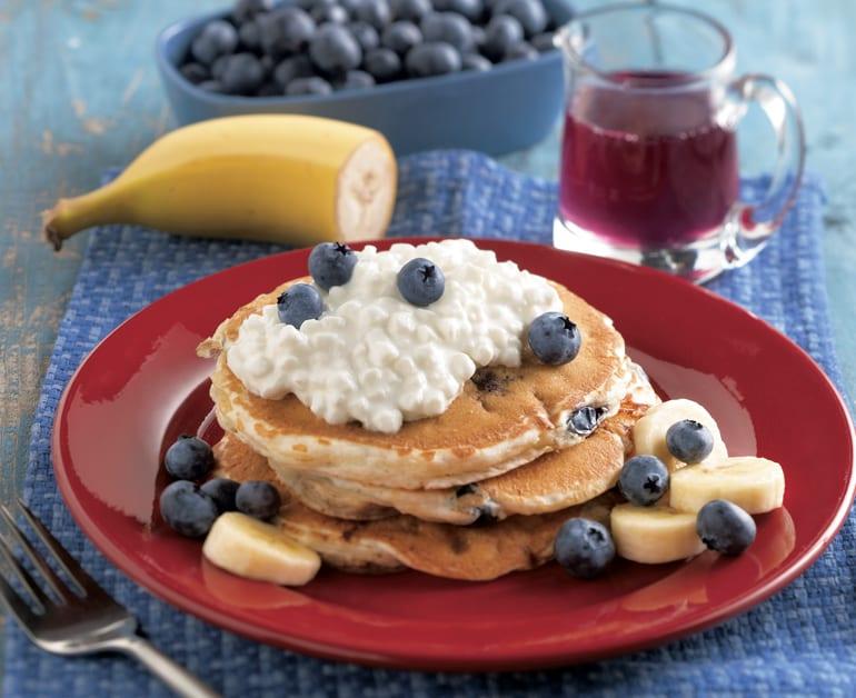 Blueberry Banana Pancakes slider image 1