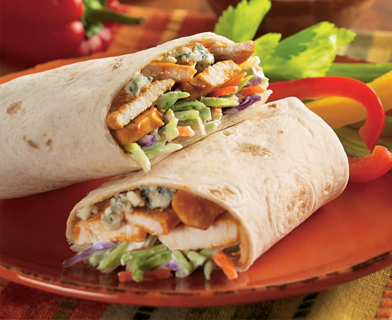 View recommended Buffalo Chicken Wraps recipe