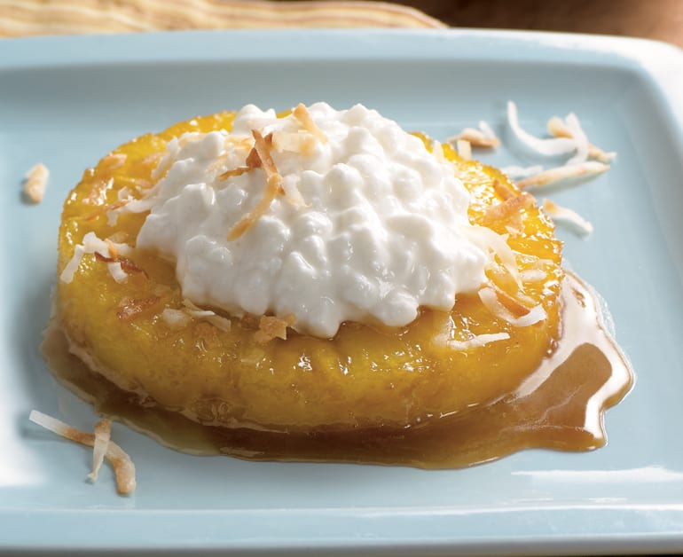 View recommended Caramelized Pineapple Dessert recipe