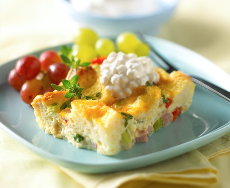 View recommended Cheesy Egg Bake recipe