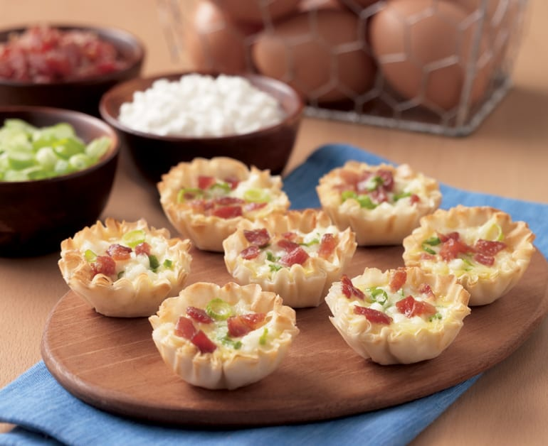 View recommended Cheesy Quiche Bites recipe