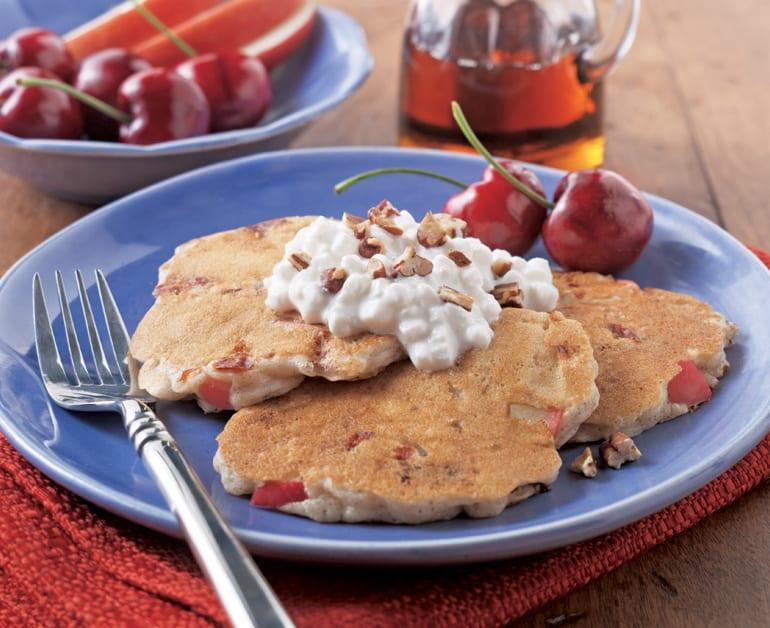 Cinnamon Apple Cherry Silver Dollar Pancakes slider image 1