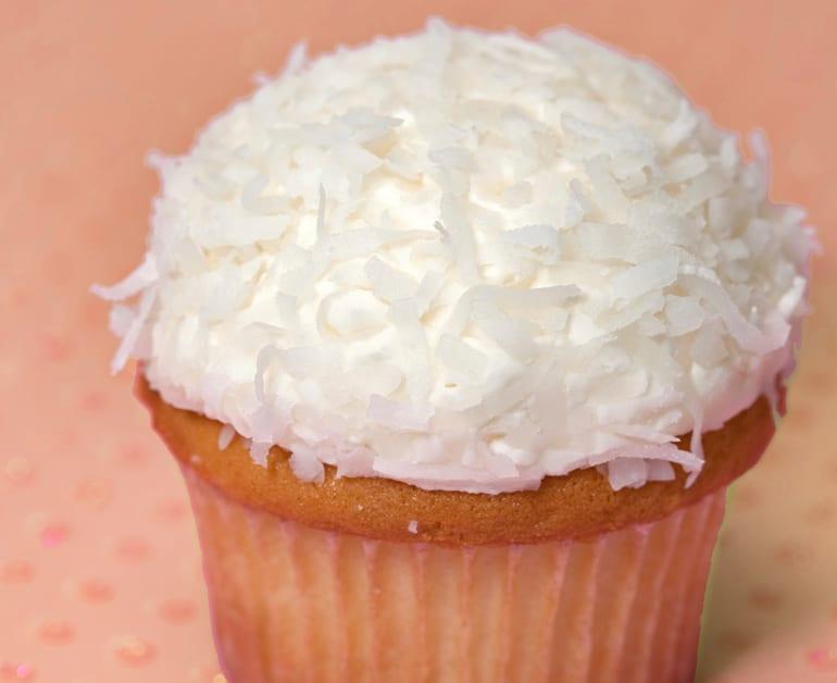 Coconut Cupcakes slider image 1