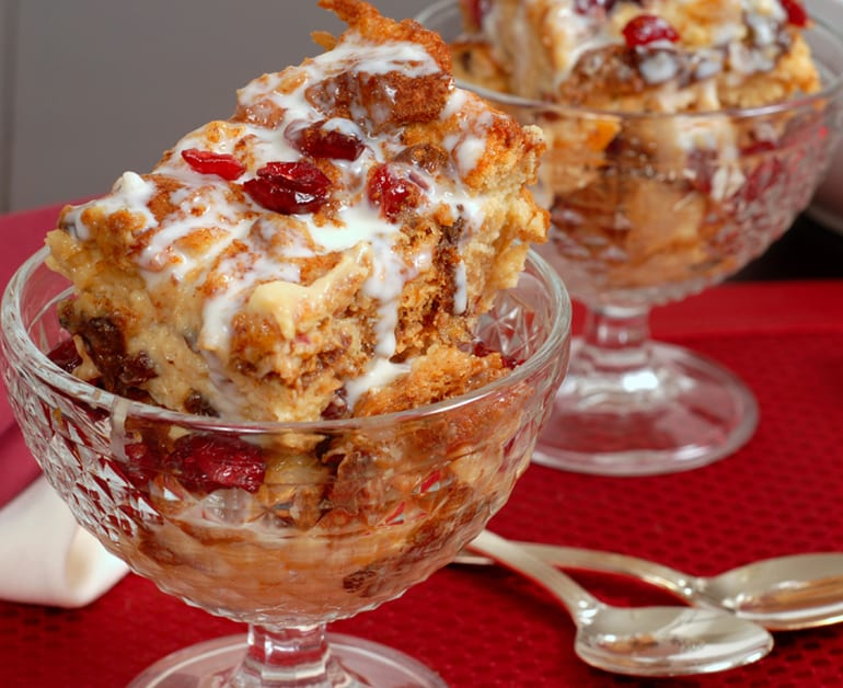 Cranberry Bread Pudding slider image 1