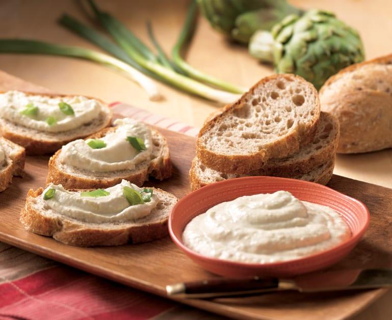 View recommended Creamy Artichoke Spread recipe