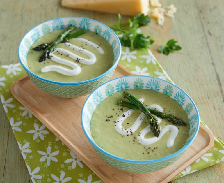 Click to open Creamy Fresh Asparagus Soup recipe