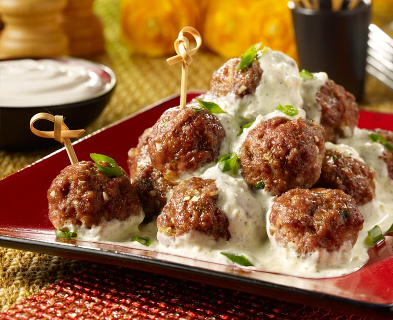 Creamy Mini Meatballs slider image 1