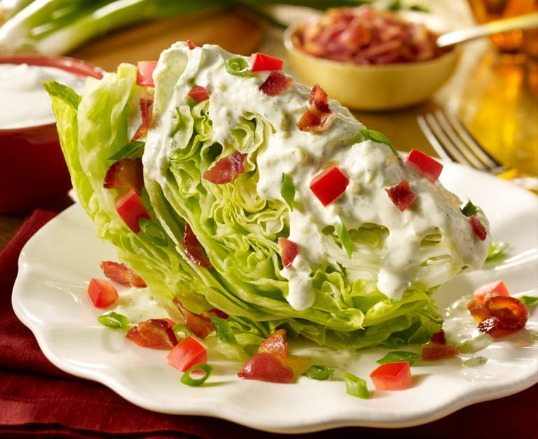 View recommended Creamy Wedge Salad recipe