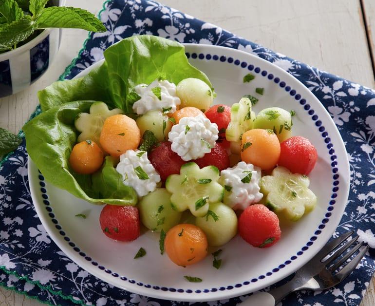 Thumbnail image for Cucumber Melon Salad