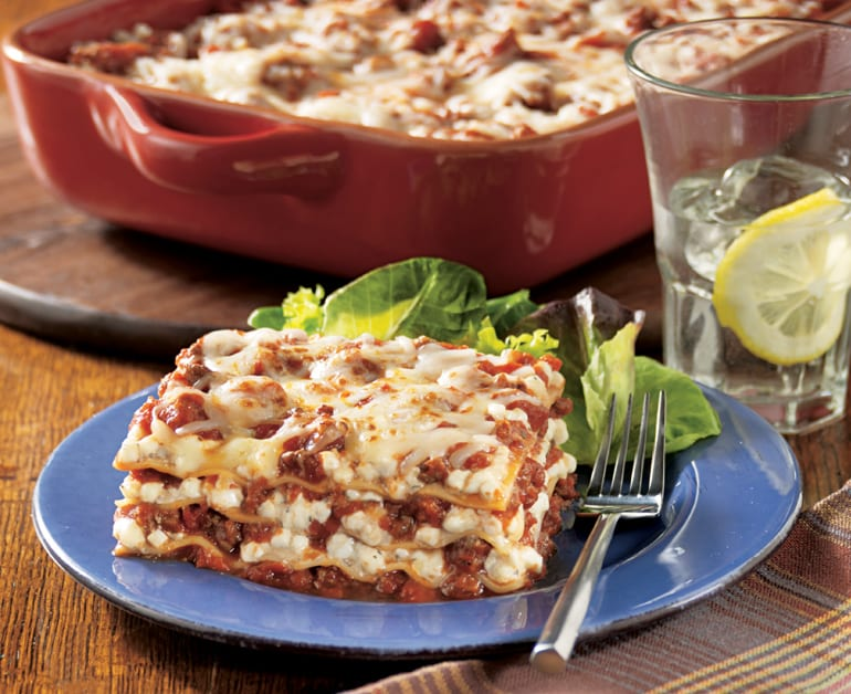 Click to open Easy Cheesy Lasagna recipe