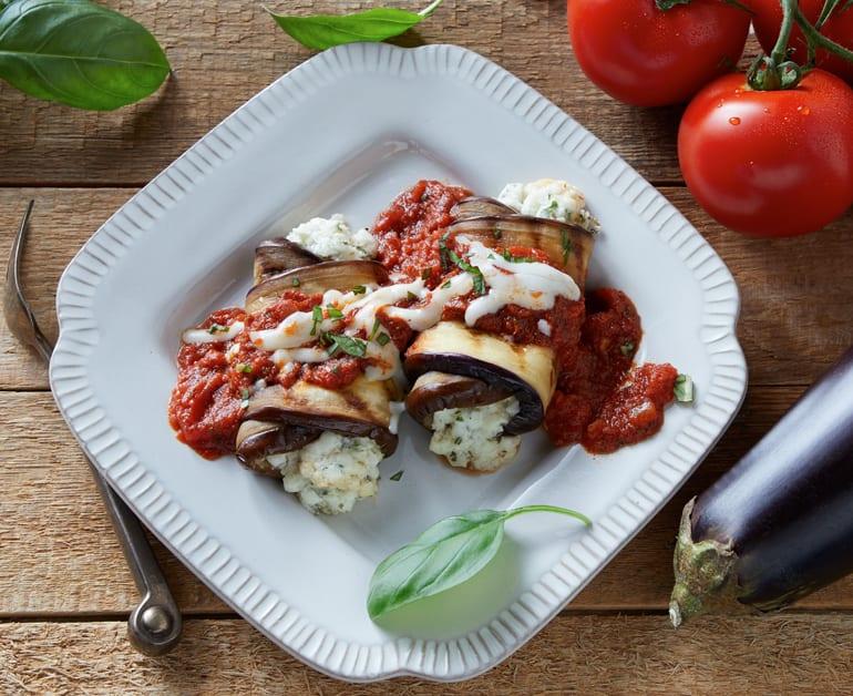 Eggplant Manicotti slider image 1