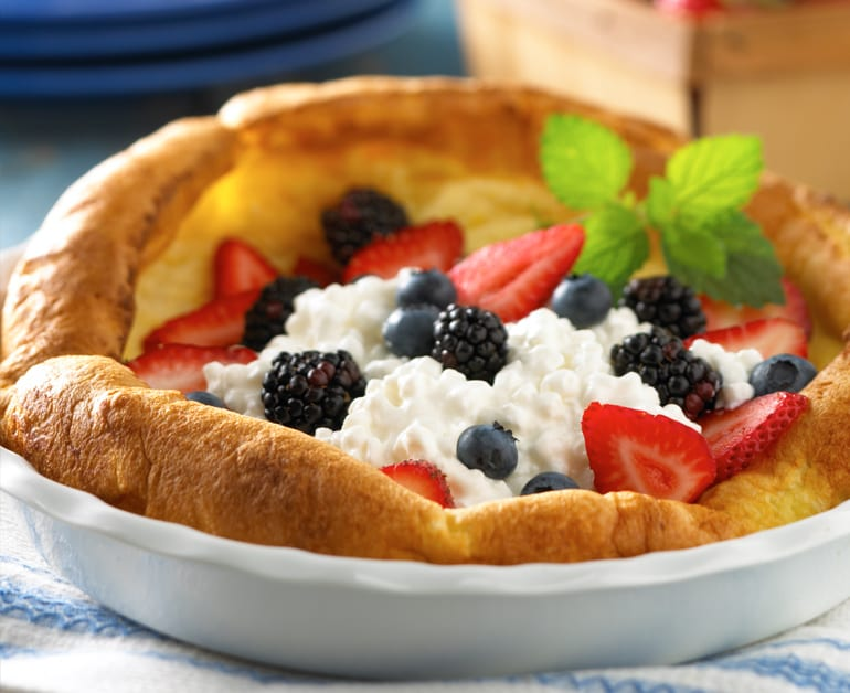 View recommended Fresh Fruit & Cheese Puff Pancake recipe