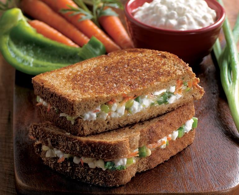 Garden Grilled Cheese Sandwich slider image 1