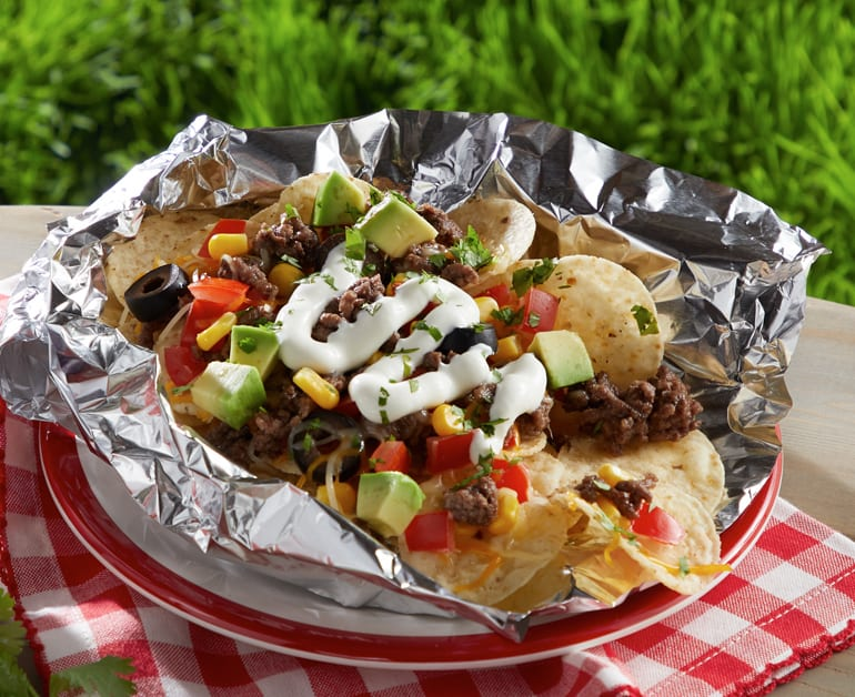 View recommended Grilled Campfire Nacho Packets recipe
