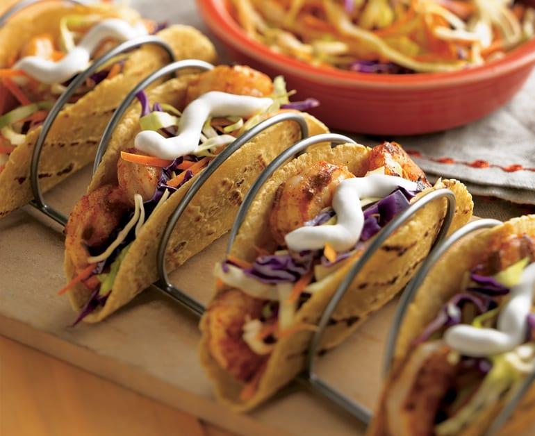 Tacos de Camarones Asados slider image 1