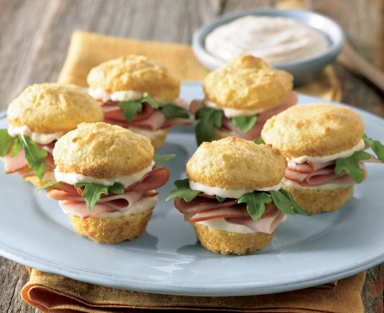 View recommended Ham and Cornbread Sliders recipe