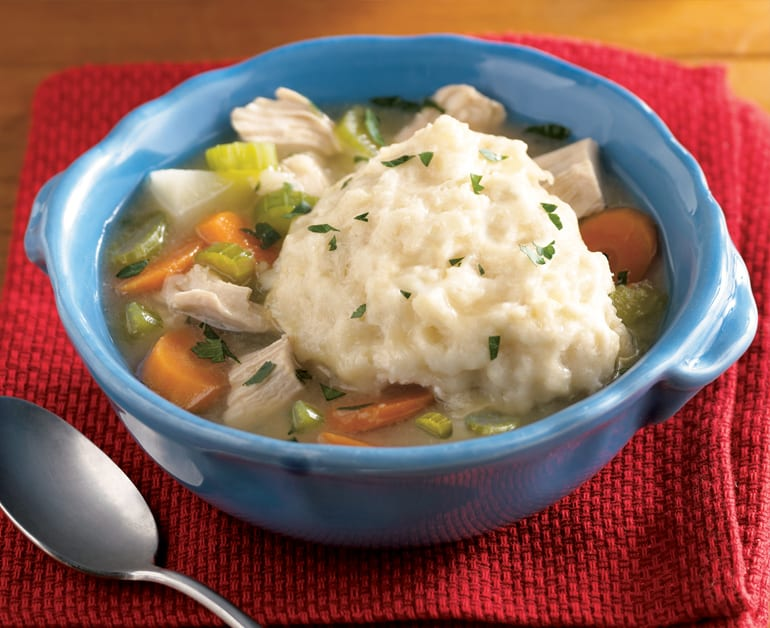 Hearty Chicken Soup with Dumplings slider image 1