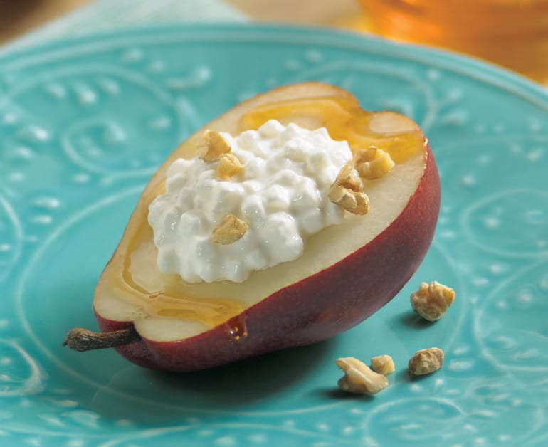 Fresh Pears with Honey and Walnuts slider image