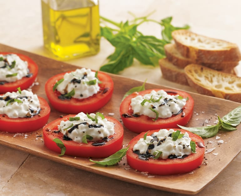 View recommended Cottage Cheese Caprese recipe