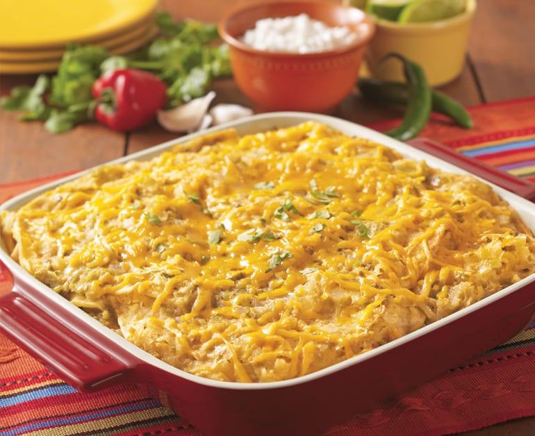Light Chicken-Verde Enchiladas slider image
