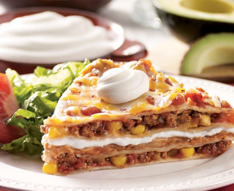 View recommended Tex-Mex Lasagna recipe