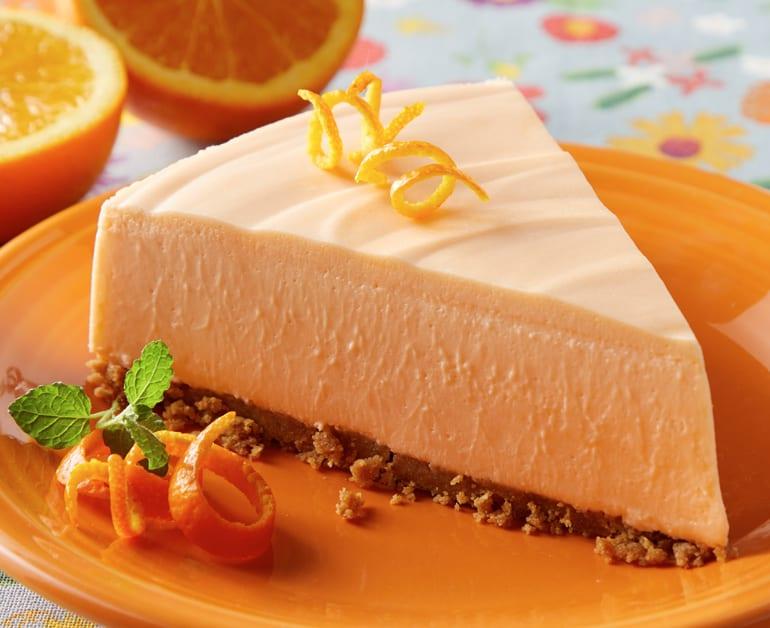 No Bake Orange Cheesecake slider image 1