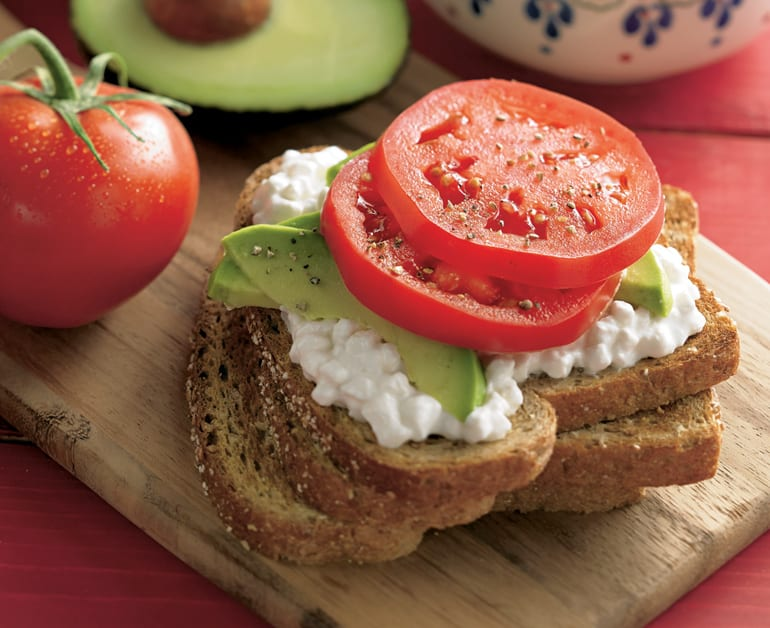 Click to open Hearty Open-Faced Sandwiches recipe