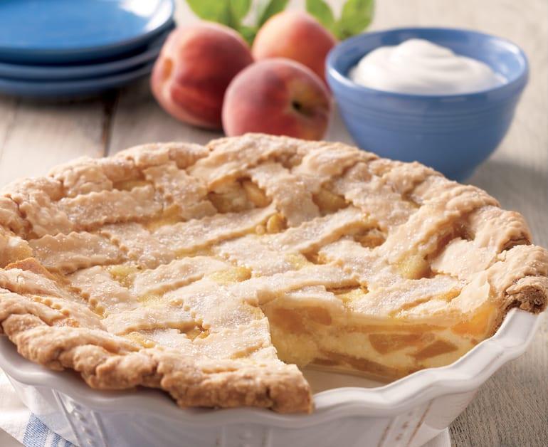 Peaches and Cream Pie slider image 1