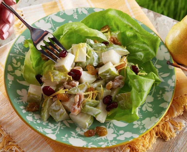 Thumbnail image for Pear Waldorf Salad