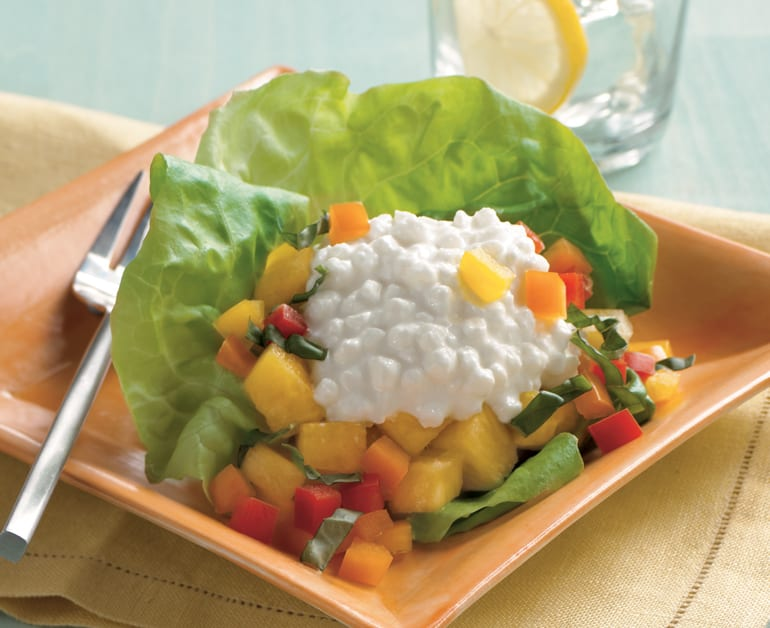Pineapple, Pepper, and Cheese Salad slider image 1