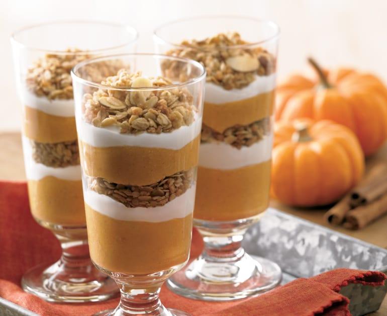 View recommended Pumpkin Pie Parfaits recipe