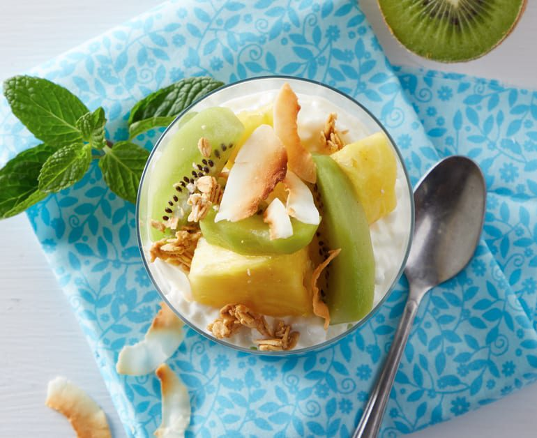 Tropical Breakfast Parfait slider image