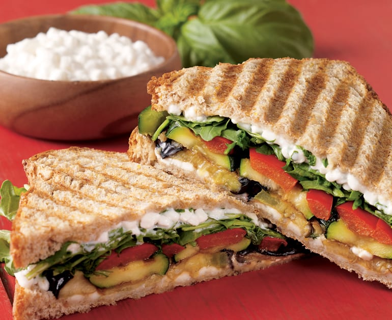 View recommended Roasted Veggie Sandwich recipe