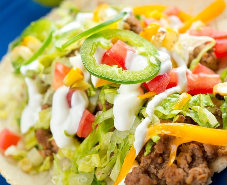 Tacos de Picadillo slider image 1
