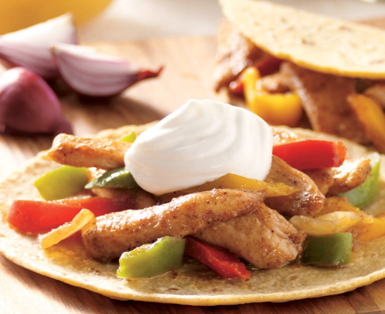 Chicken Fajitas slider image