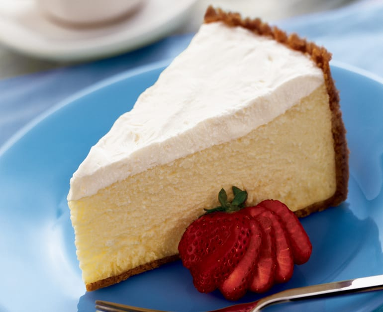 Sour Cream Cheesecake slider image