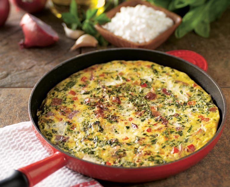 Spinach Cheese Frittata slider image 1