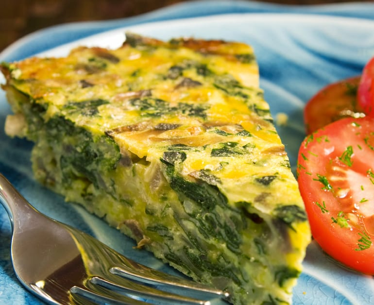 Spinach Quiche slider image 1