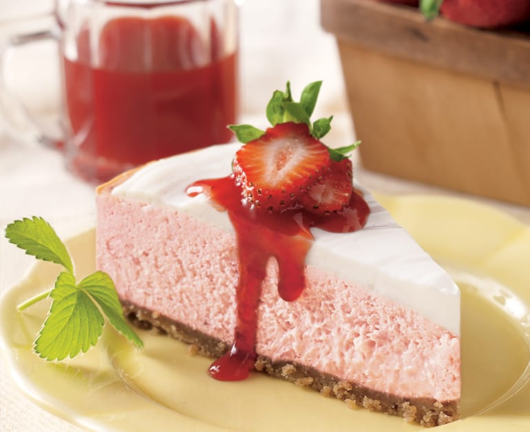 View recommended Strawberry Cheesecake recipe