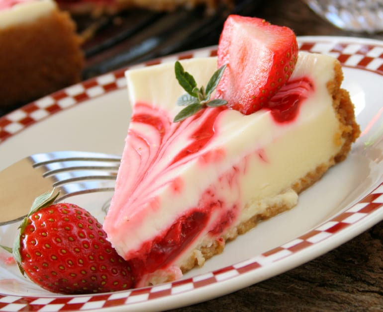 Thumbnail image for Strawberry Swirl Pie