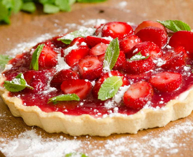 View recommended Strawberries and Cream Tart recipe