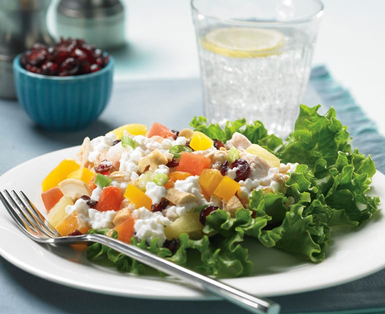 Thumbnail image for Tropical Cottage Cheese Salad