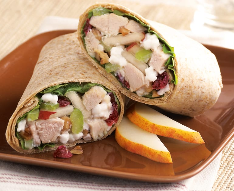 View recommended Turkey Salad Roll-Ups recipe