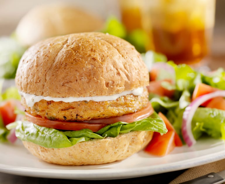 Veggie Burgers - Daisy Brand - Sour Cream & Cottage Cheese